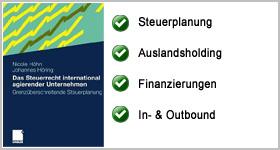Rezension – Das Steuerrecht international agierender Unternehmen