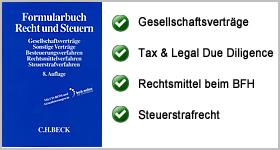 Formularbuch Recht und Steuern