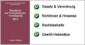 Rezension – Handbuch zur Gewerbesteuerveranlagung 2013