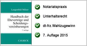 Handbuch der Eheverträge und Scheidungsvereinbarungen