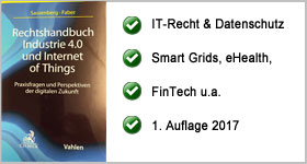 Rechtshandbuch Industrie 4.0 und Internet of Things