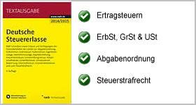 Textausgabe – Deutsche Steuererlasse