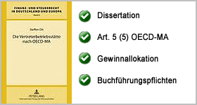 Rezension – Die Vertreterbetriebsstätte nach OECD-MA