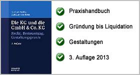 Rezension – Die KG und die GmbH & Co. KG