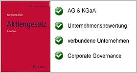 Aktiengesetz – Heidelberger Kommentar