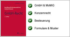GmbH-Recht – Heidelberger Kommentar