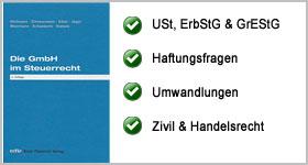 Die GmbH im Steuerrecht