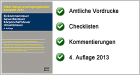Rezension – Paket Steuerveranlagungsbücher Kompakt 2012