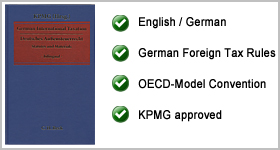 Recencion – German International Taxation