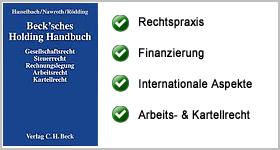 Rezension – Beck´sches Holding Handbuch