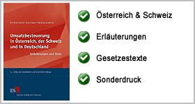 Rezension – Umsatzbesteuerung in Österreich, der Schweiz und in Deutschland