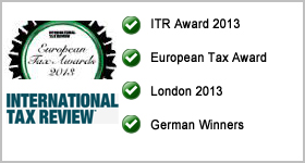 ITR European Tax Awards 2013