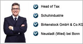 Head of Tax