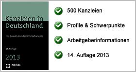 Rezension – Kanzleien in Deutschland 2013
