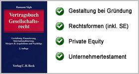 Rezension – Vertragsbuch Gesellschaftsrecht